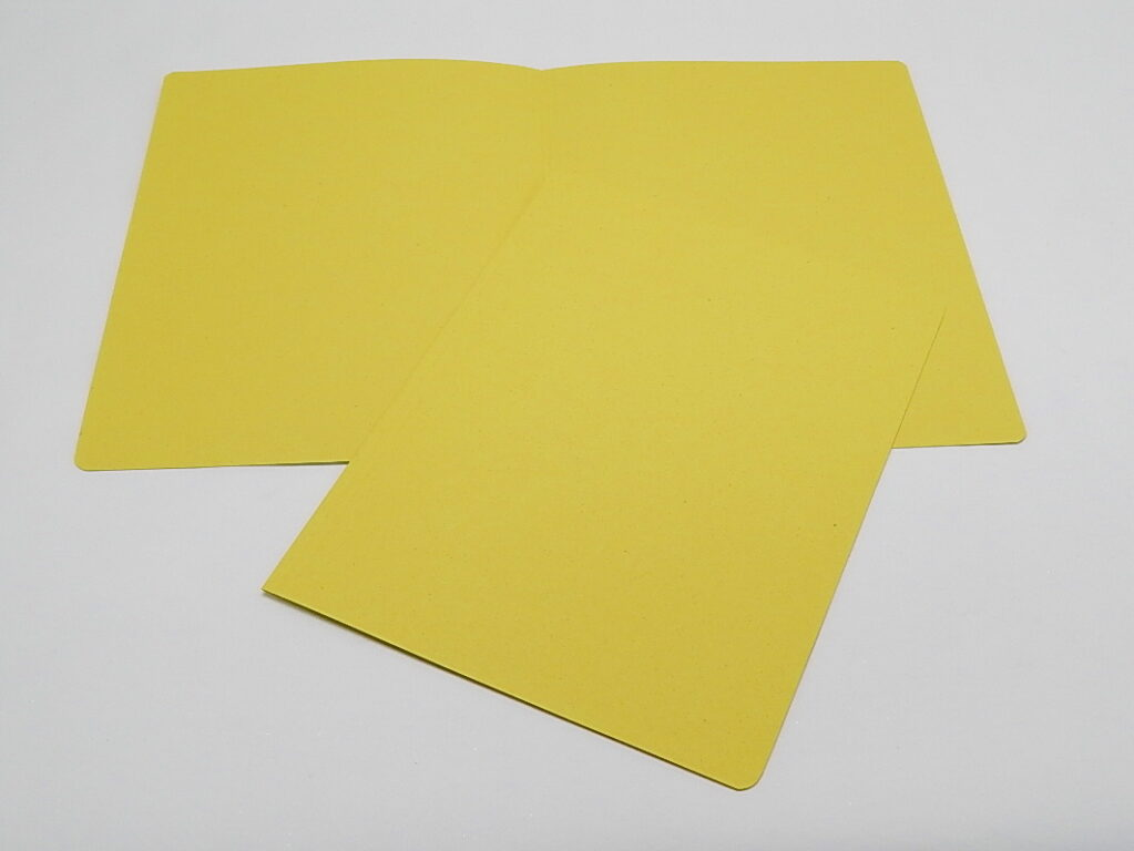 Mapa odkládací bez klopy 250 žlutá