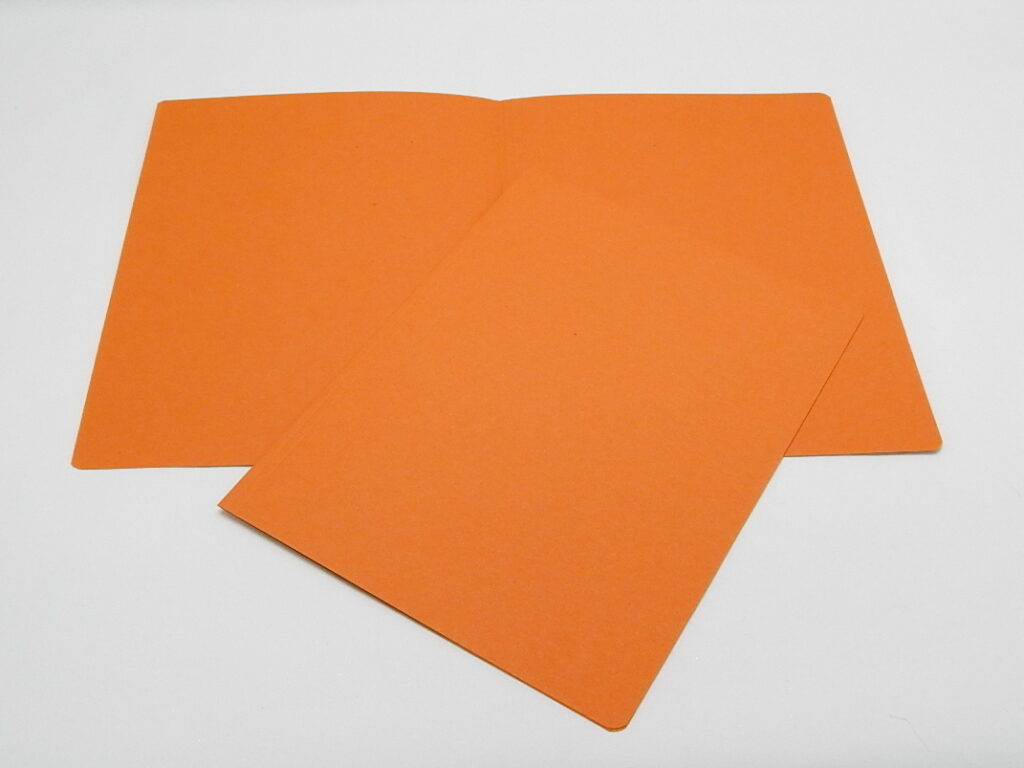 Mapa odkládací bez klopy 250 oranžová