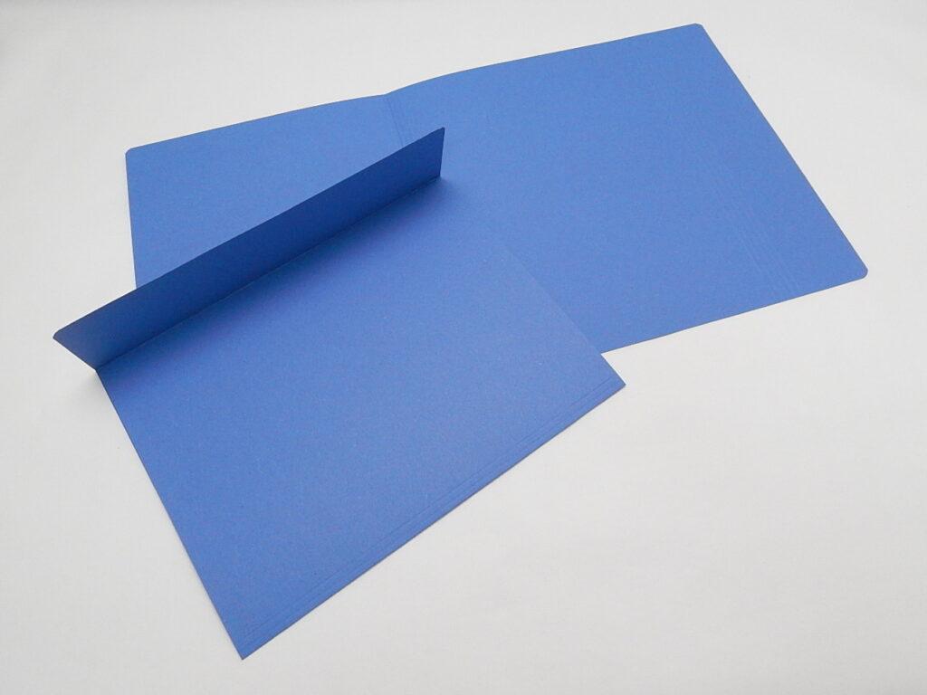Mapa odkládací 1 klopa 251 modrá