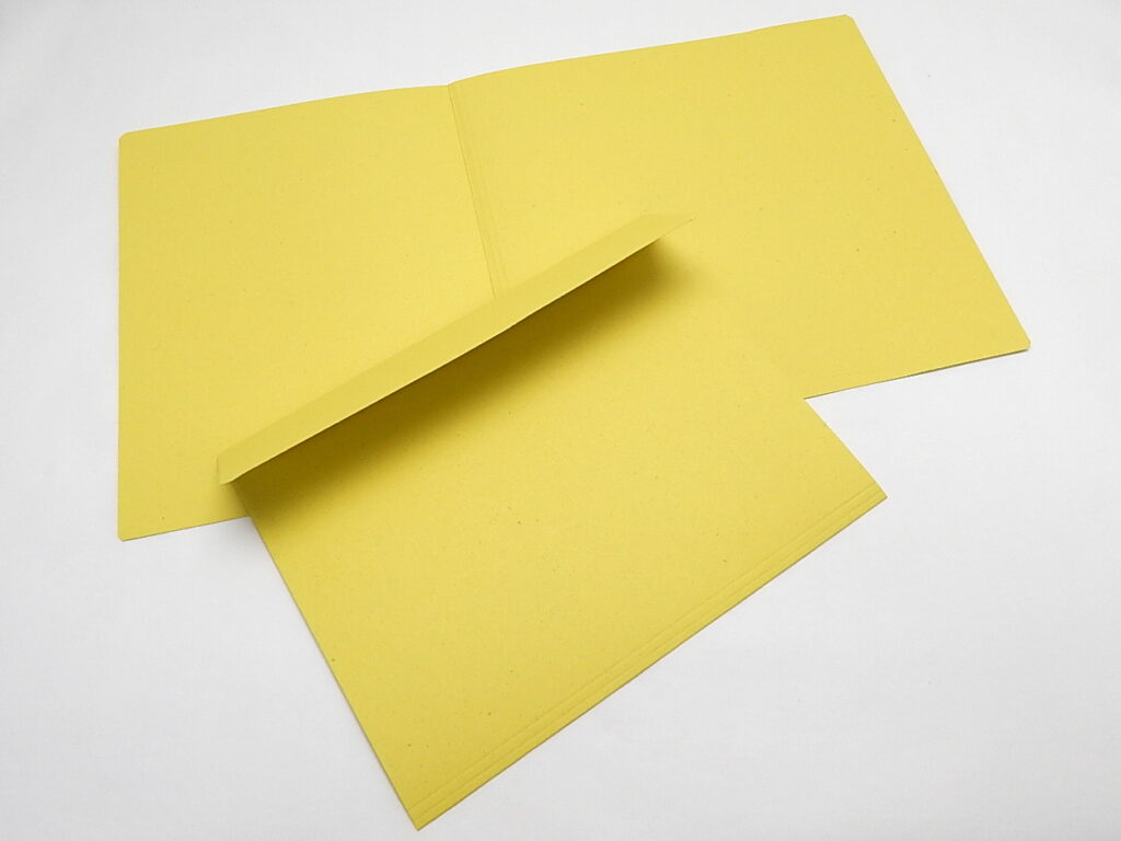 Mapa odkládací 1 klopa 251 žlutá