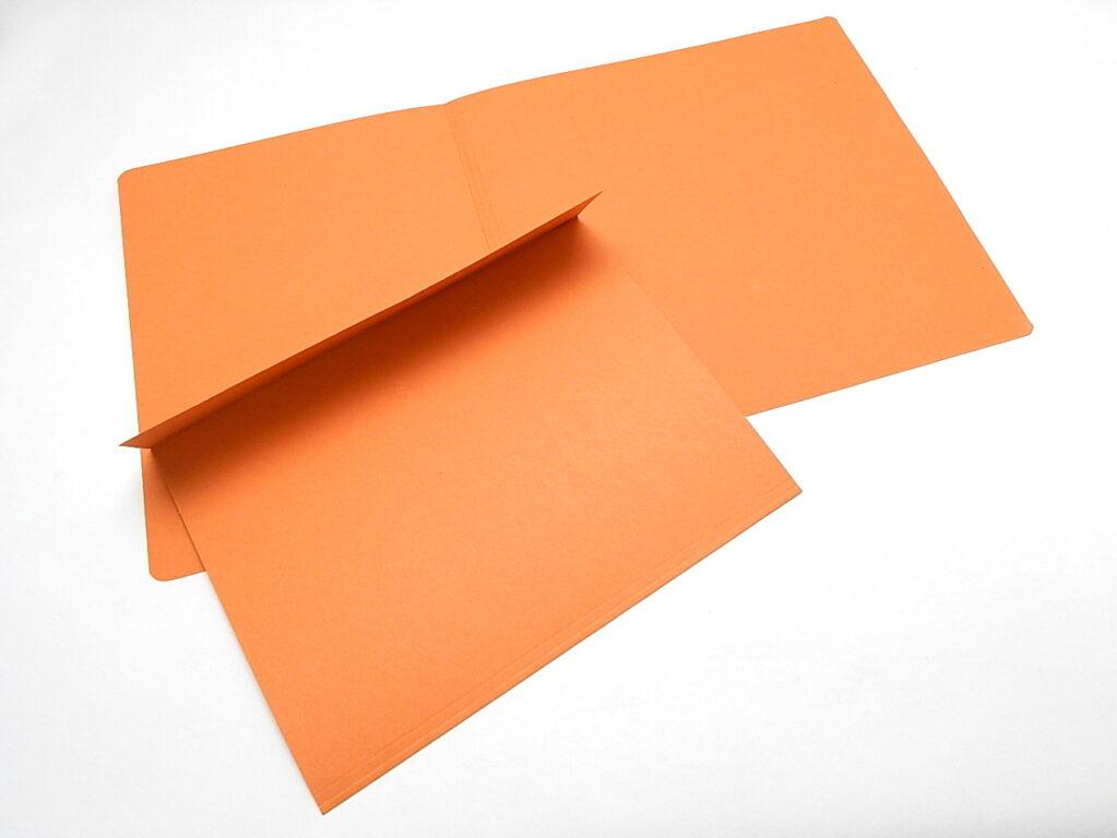 Mapa odkládací 1 klopa 251 oranžová