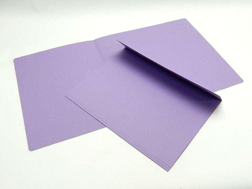 Mapa odkládací 1 klopa 251 fialová