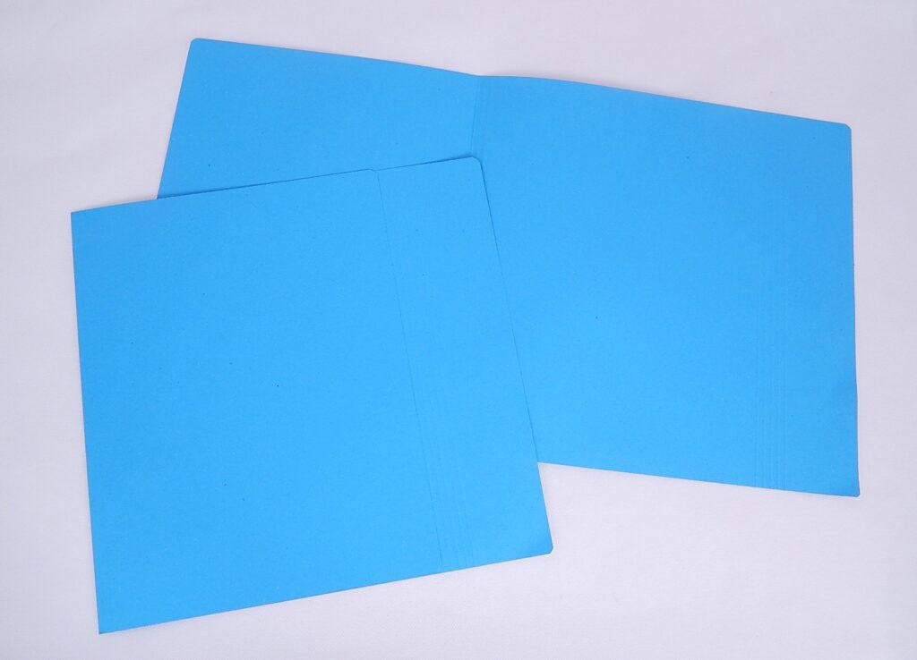 Mapa odkládací 1 klopa 251 sv.modrá