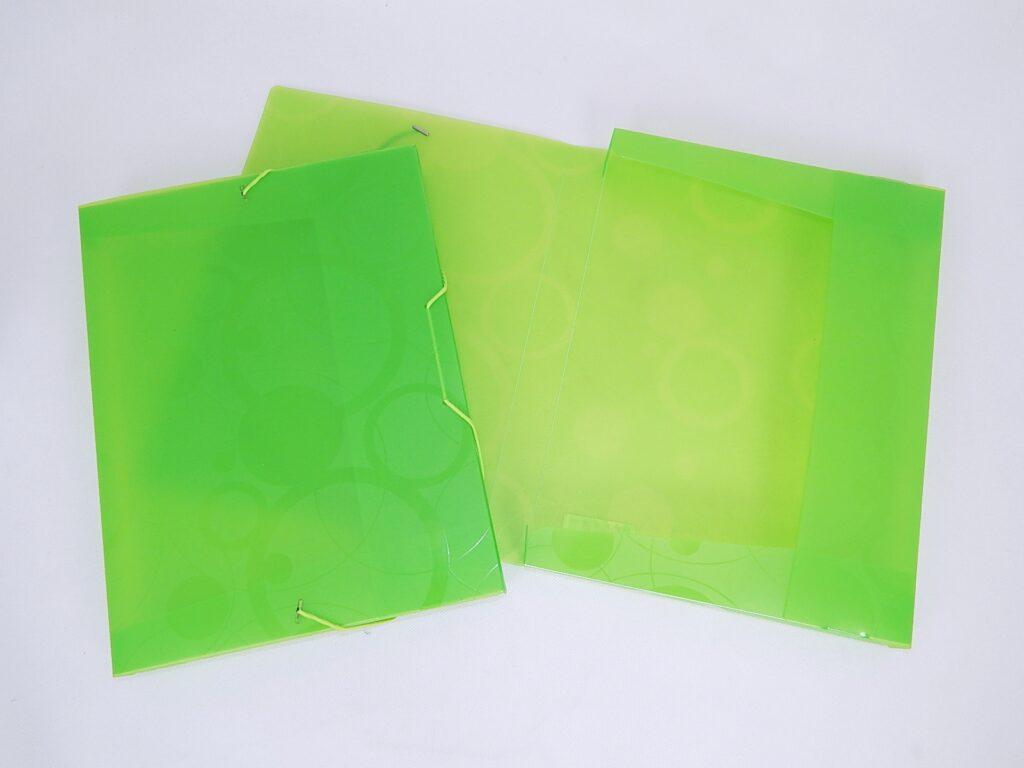 Krabice  s gumou A4 NEO Colori zelená 2-946