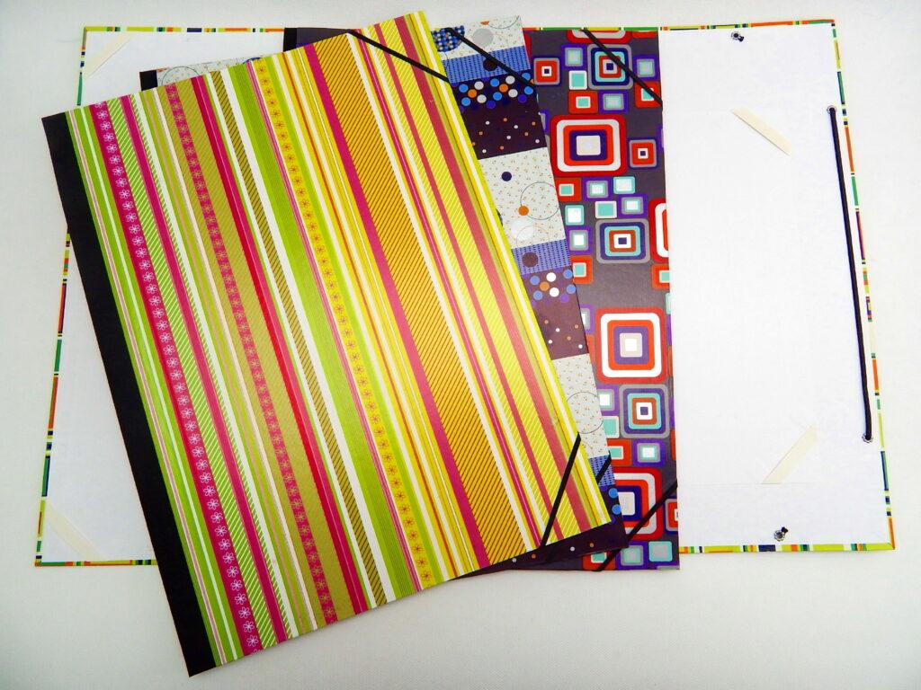 Desky na výkresy A3 rožky 3,4 mix