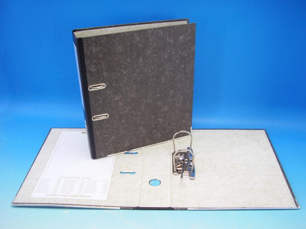 Pořadač A4 pákový 7,5cm M3230L mramor