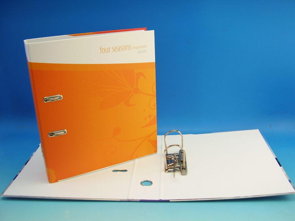"""Pořadač A4 pákový 7,5cm oranžový """"Imagina"""