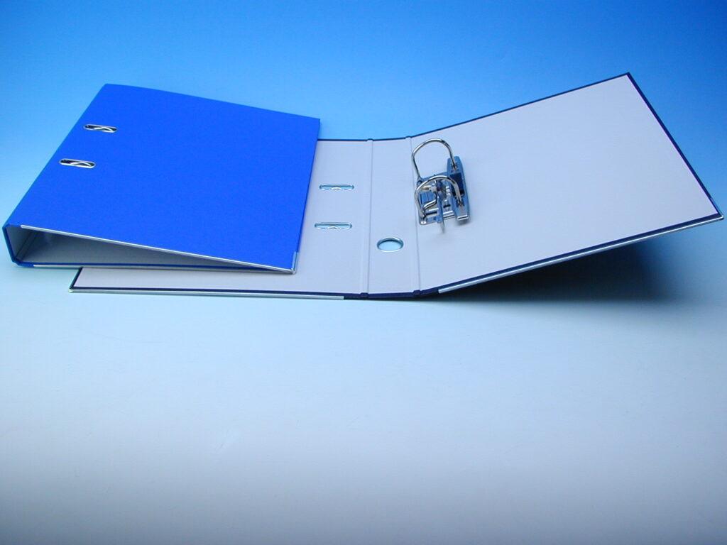 Pořadač A4 2241 5cm modrý pákový 05450408