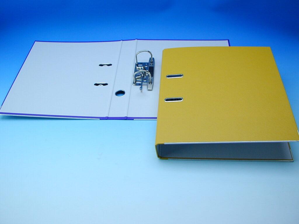 Pořadač A4 2241 5cm žlutý pákový 05451307