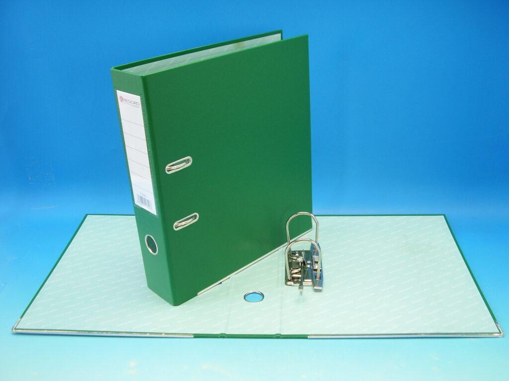 Pořadač A4 pákový 7,5 cm B3230L zelený POP