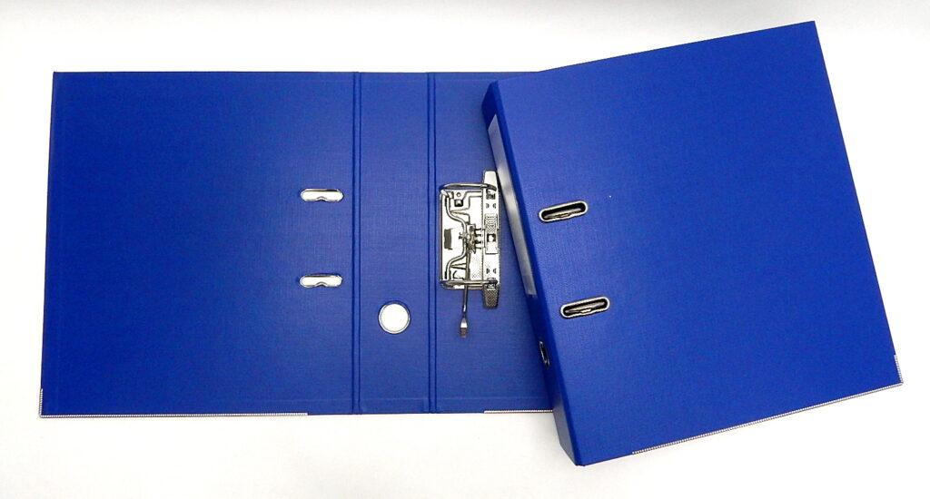 Pořadač A4 pákový 7,5cm ,E3230L modrý PP