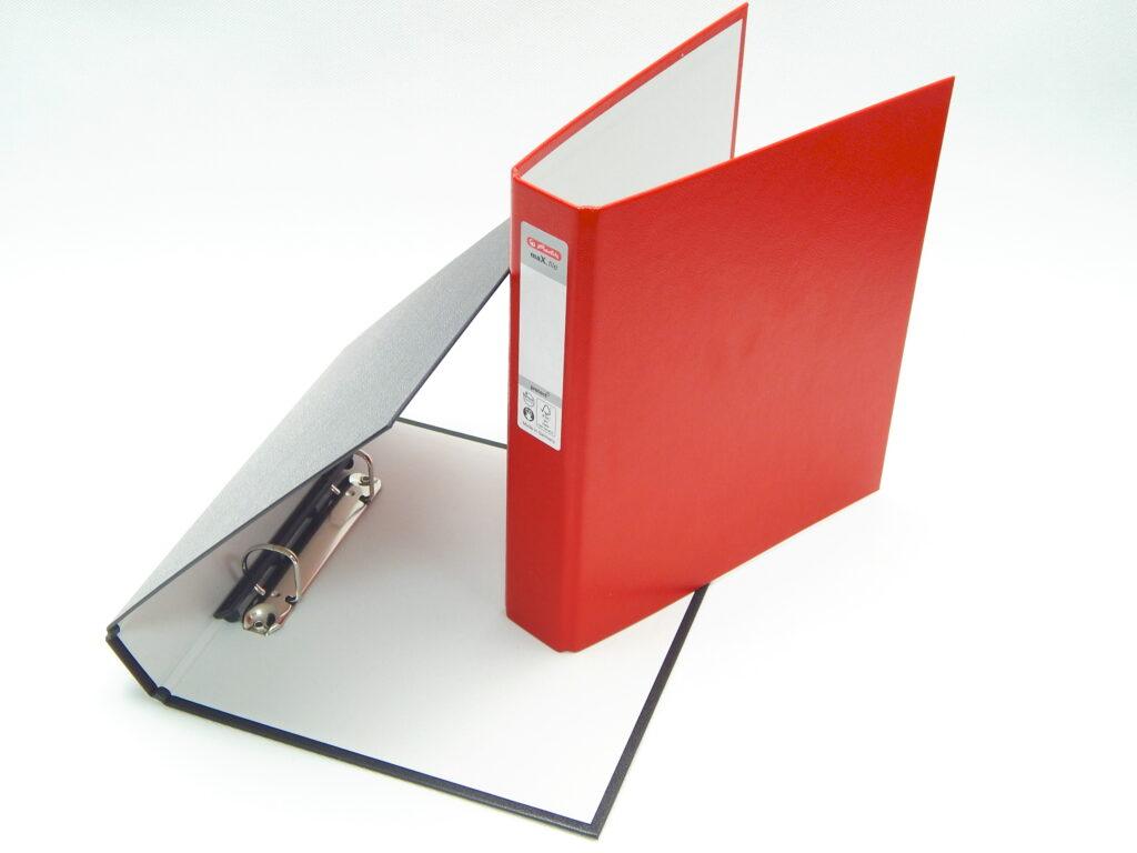 Pořadač A5/4cm- 2kr. mix barev/05355003/