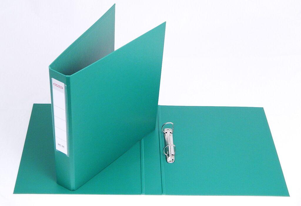Pořadač A4 2kr.-4cm zelený / 00517623/