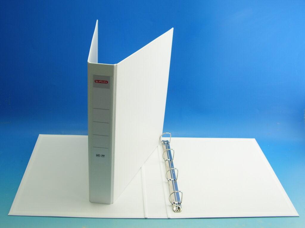 Pořadač A4 4kr.-4cm bílý 1244