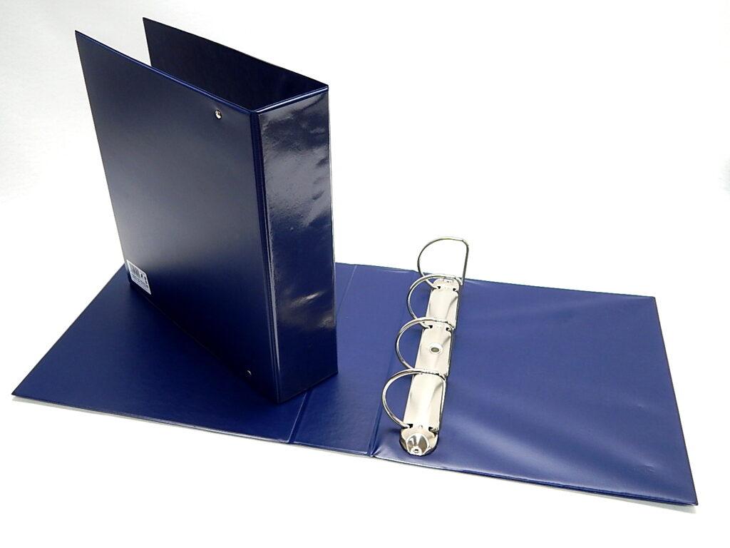 Pořadač A4 4-kr., D70 - modrý 5-173