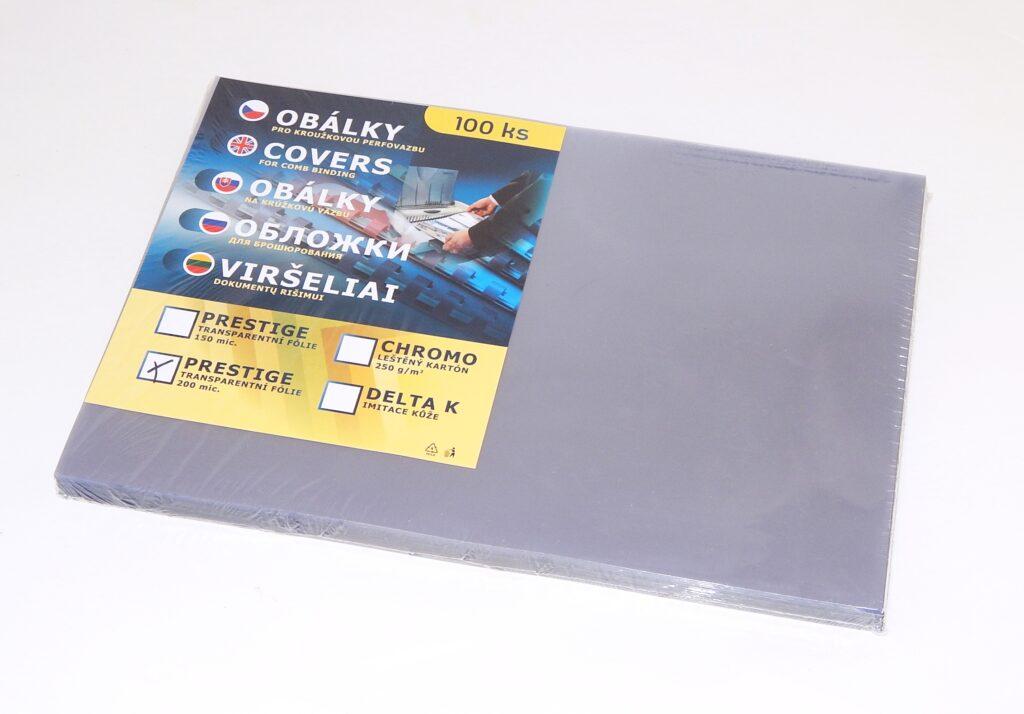 Obálka PRESTIGE A3 cristal 200 mic / 100 ks