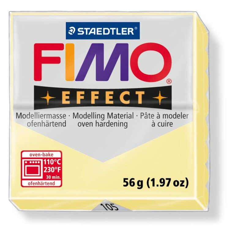 FIMO efekt pastel vanilka 56g  8020-105