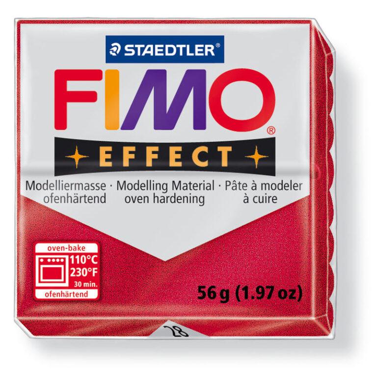 FIMO efekt rubínová 56g 8020-28