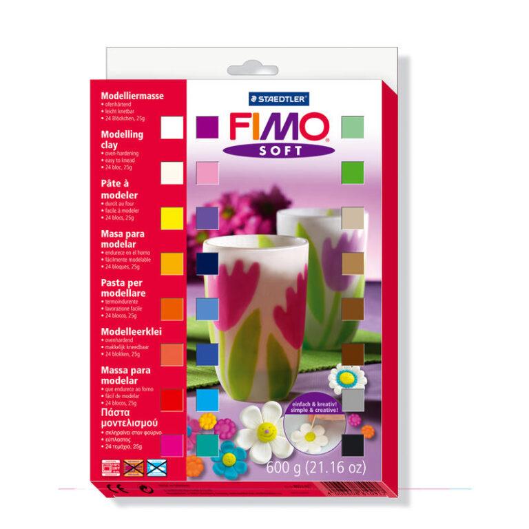 FIMO sada 24x25 g model. hmota č. 802302
