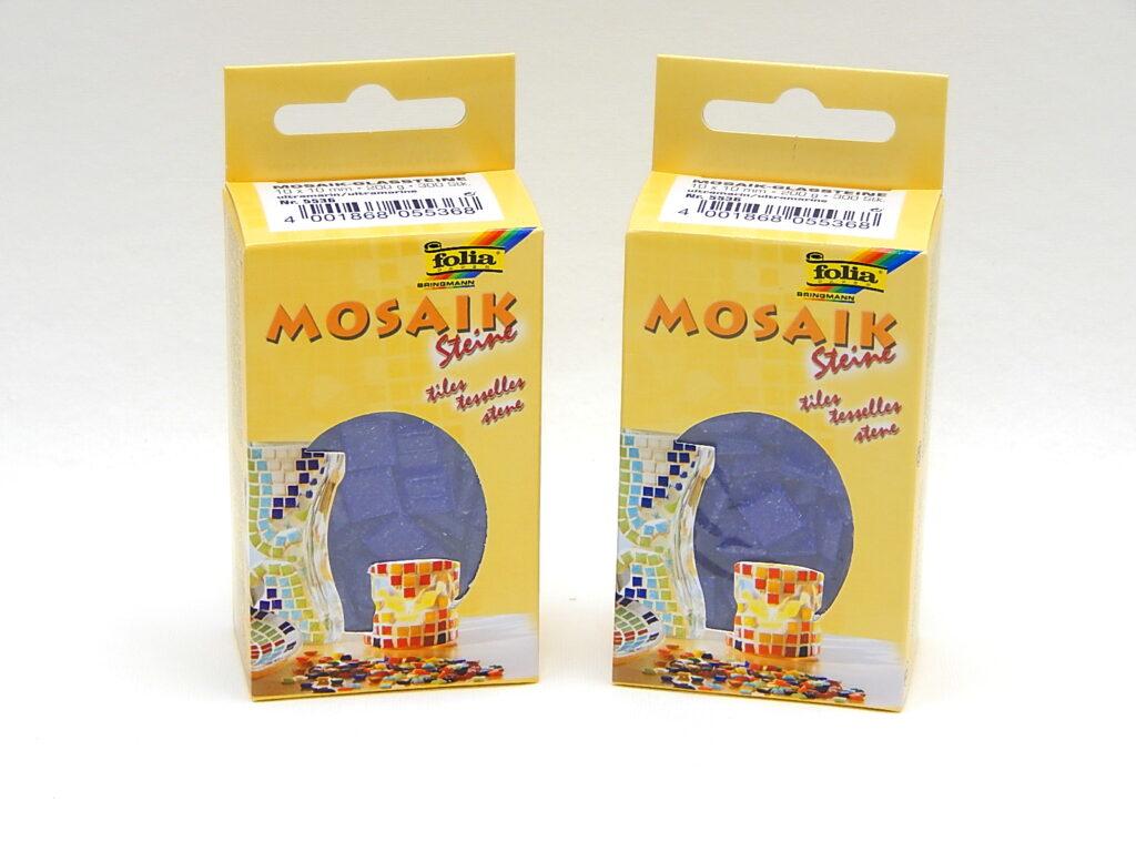 Mozaika 5536 MODŘ ULTRAM. 200gr skleněná