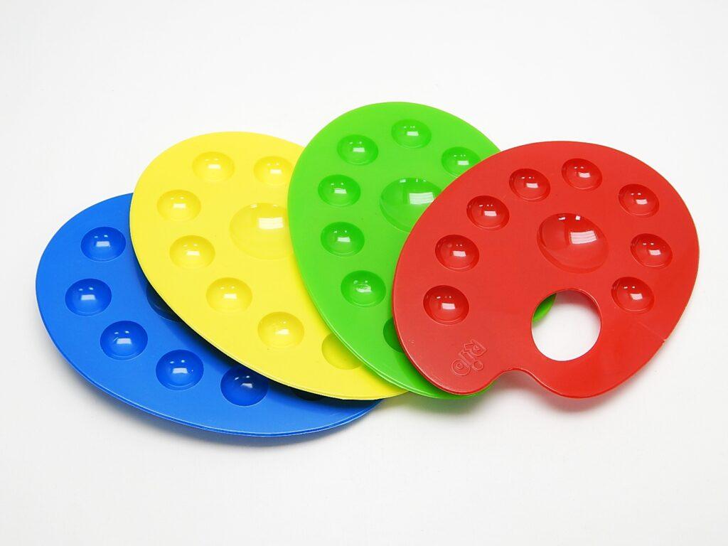 Paleta na 8 barev školní