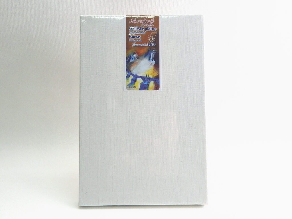 Plátno 20x30 na blindrámu-akryl