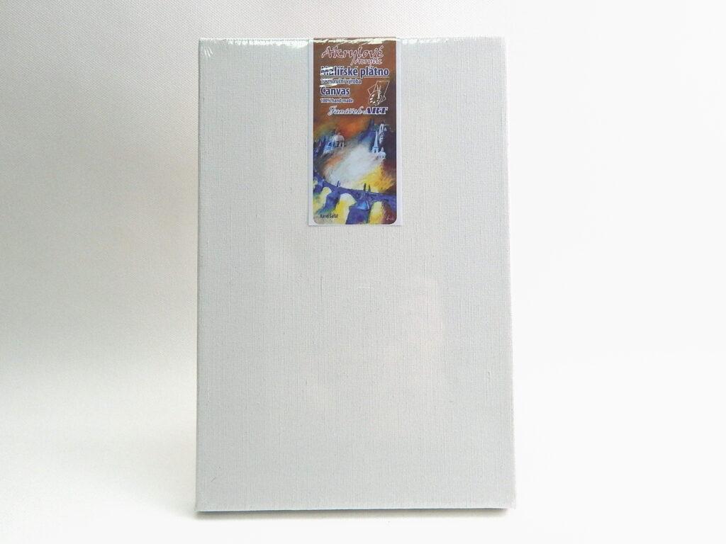 Plátno 50x60 na blindrámu - akryl spona ze zadu