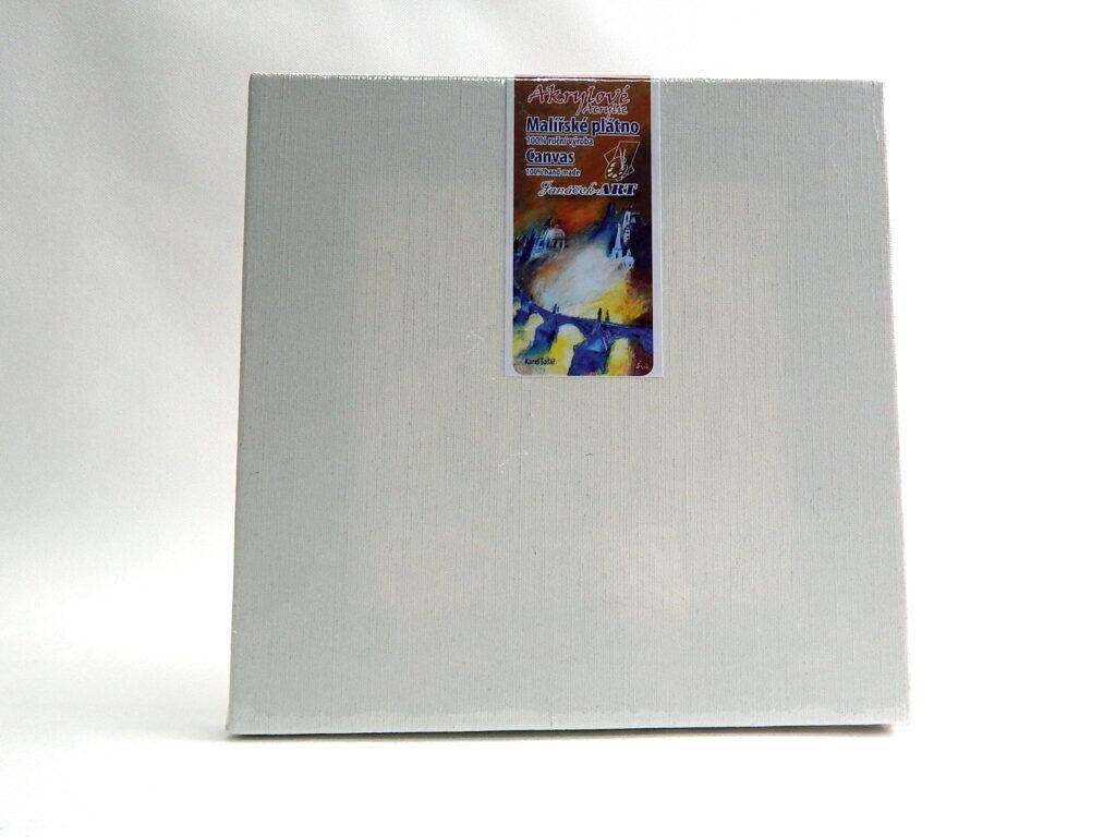 Plátno 75x75 na blindrámu - akryl, příčka