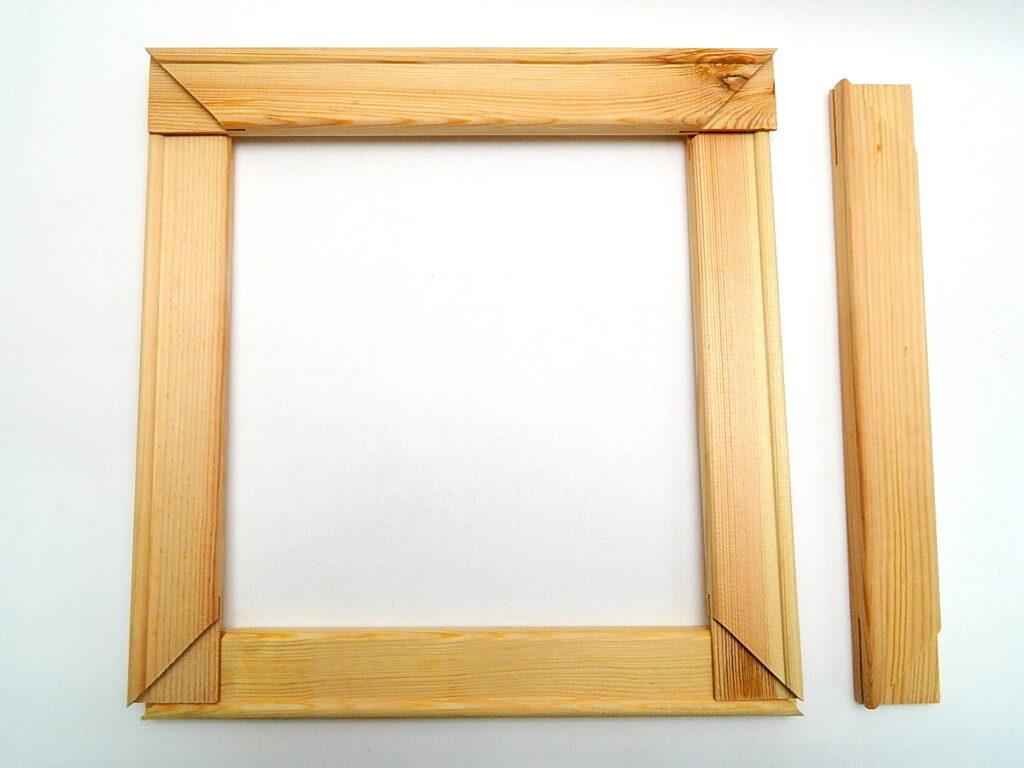 Blindrám 25cm dřevěný