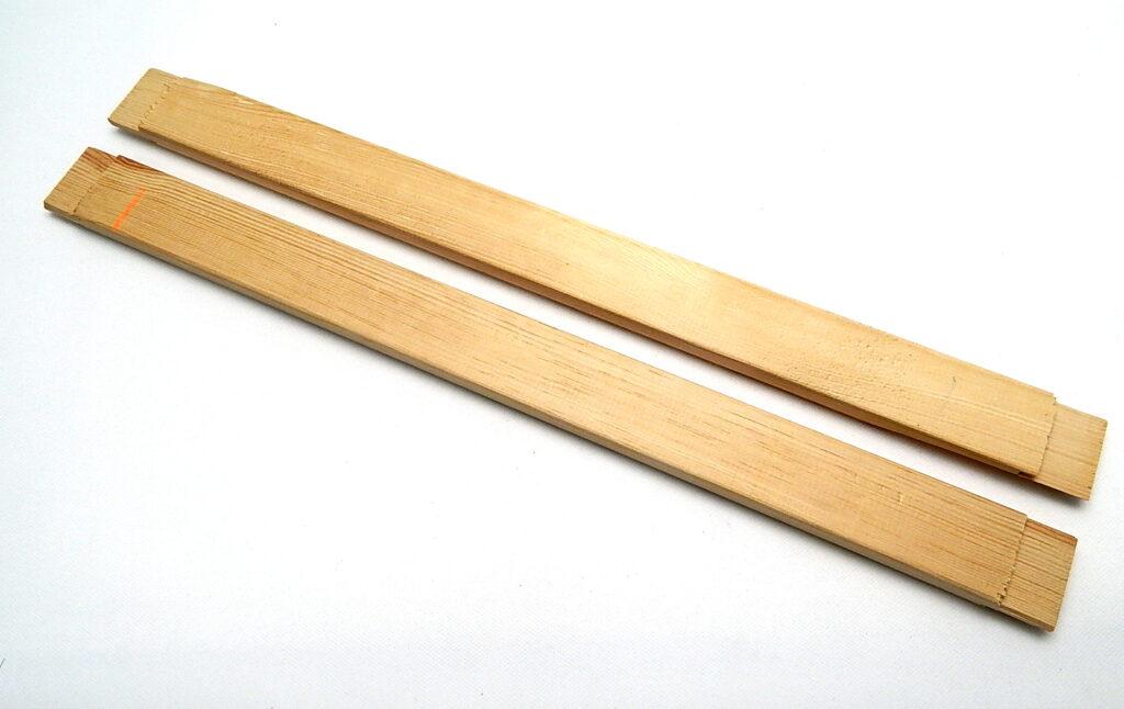 Příčka 80cm k blindrámům