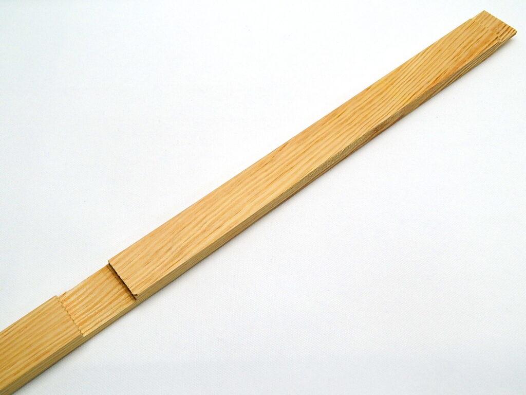 Příčka 85cm k blindrámu