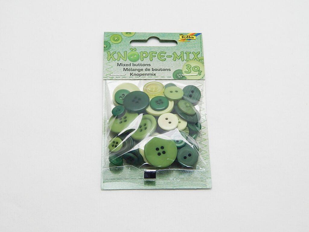 Knoflík zelený 30g  / 12895 /