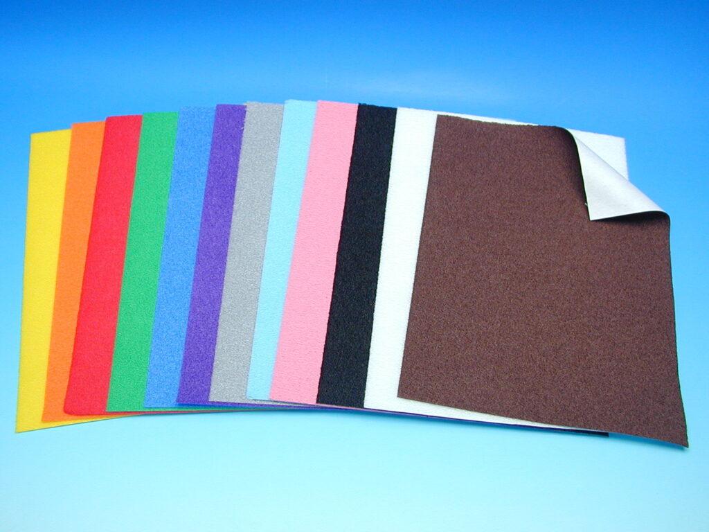 Papír velur modrý A4 870264A