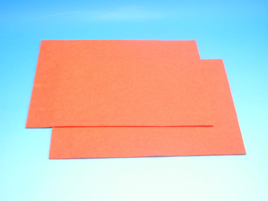 Plsť oranžová 140g 20x30cm 870502