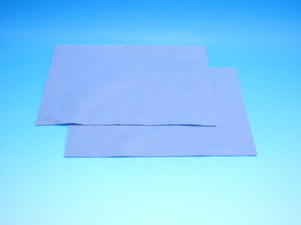 Plsť azur.modrá 140g 20x30cm 870506