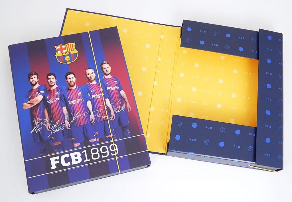 Box školní A4 / Jumbo / FC Barcelona / 5-70518