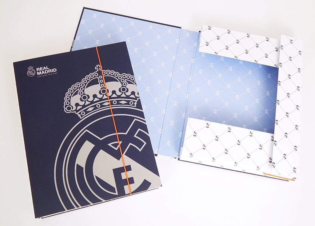 Box školní  A4 / Jumbo / Real Madrid / 5-70318