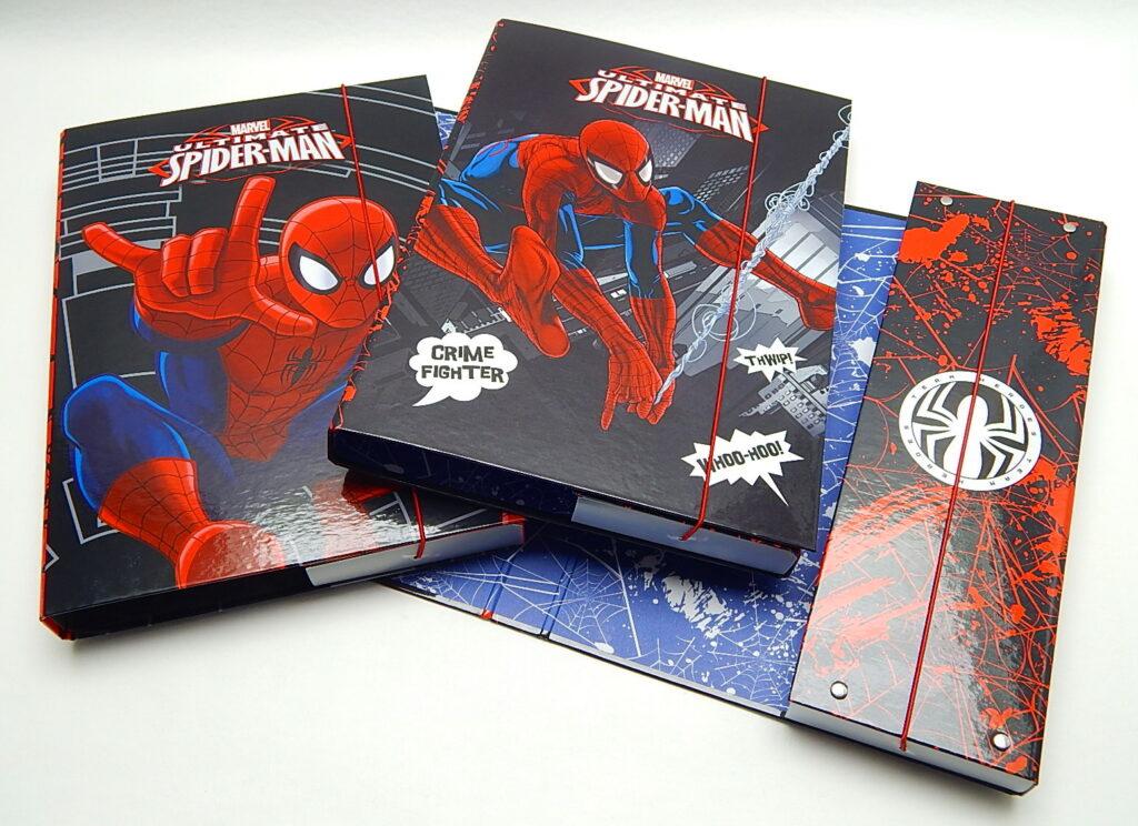 Box školní A4 Spiderman /1-700/