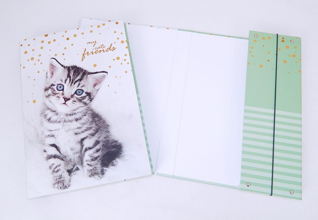 Box školní A4 / kočka / 3-74018