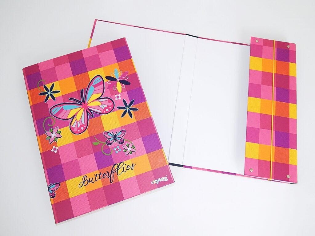 Box školní A4 Motýl / 3-75618