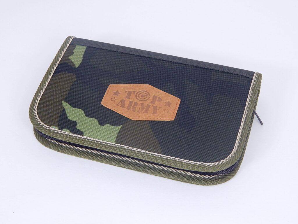 Školní pouzdro TOP ARMY 2 klopy /P4801-4.115