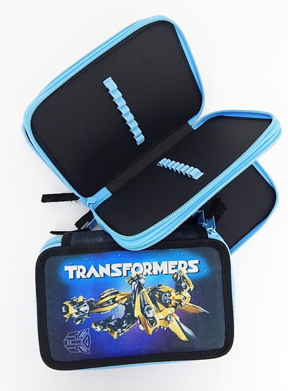 Penál školní 3 patrový Transformers bez náplně ( 3-14517 )