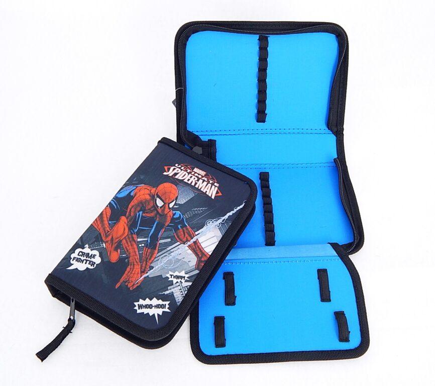 Penál školní 1 patro + klopa Spiderman /3-508/