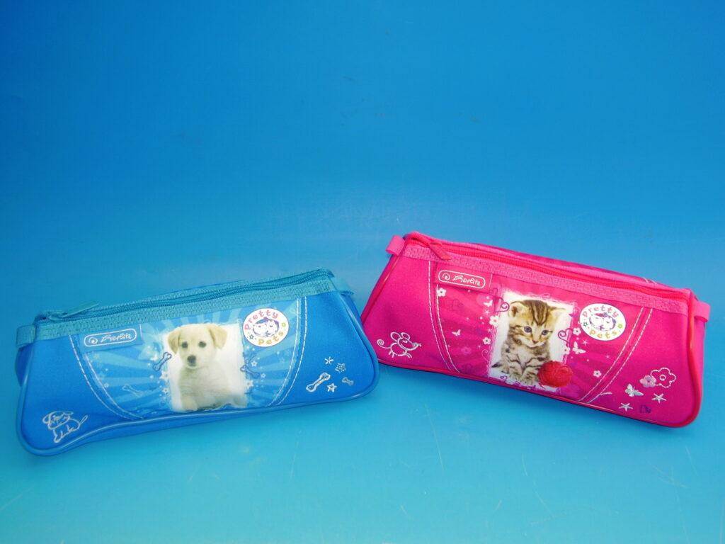 Etue školní trojúh. Pretty Pets mix 11075355