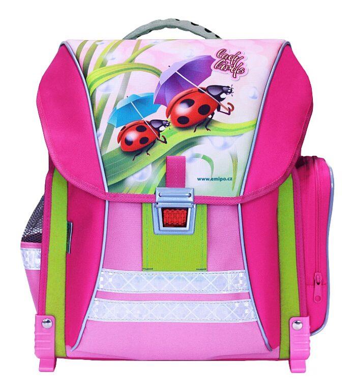 Batoh školní Ladybirds  /B-7909-2.103/
