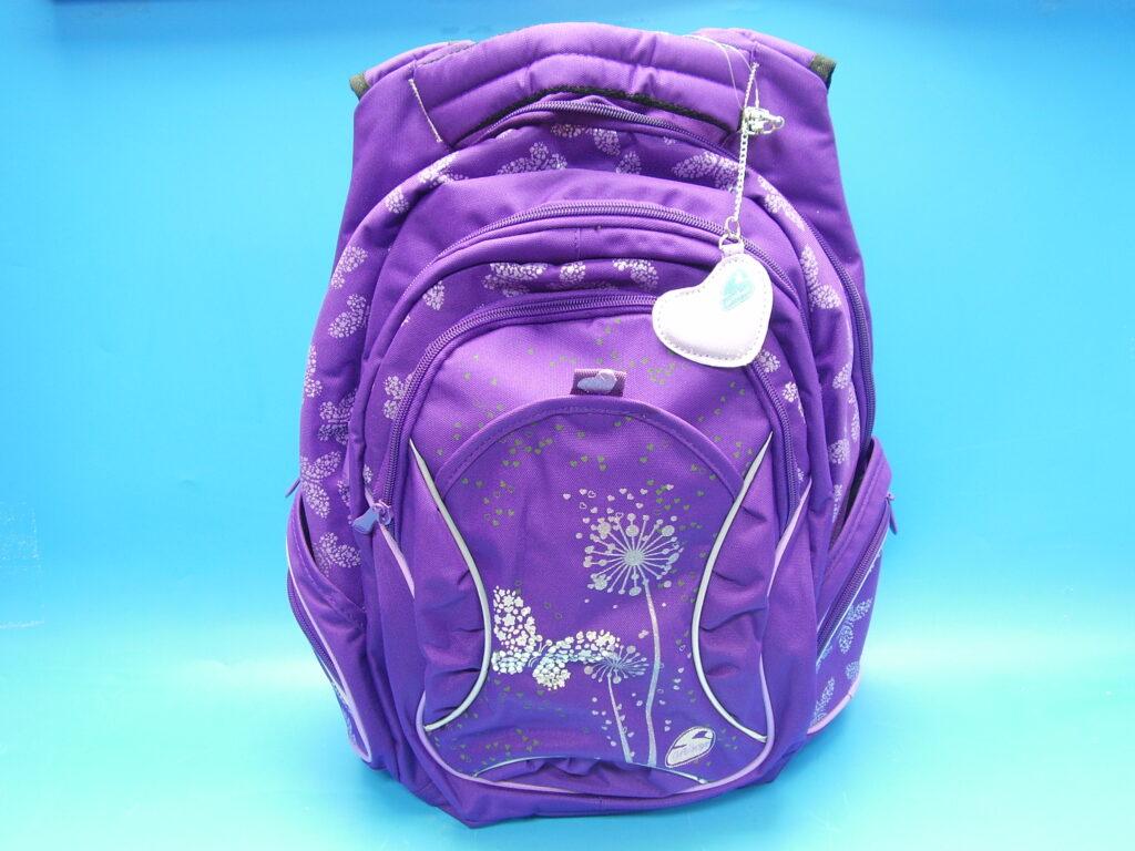 Batoh školní Paradise fialový /B-42389-74/