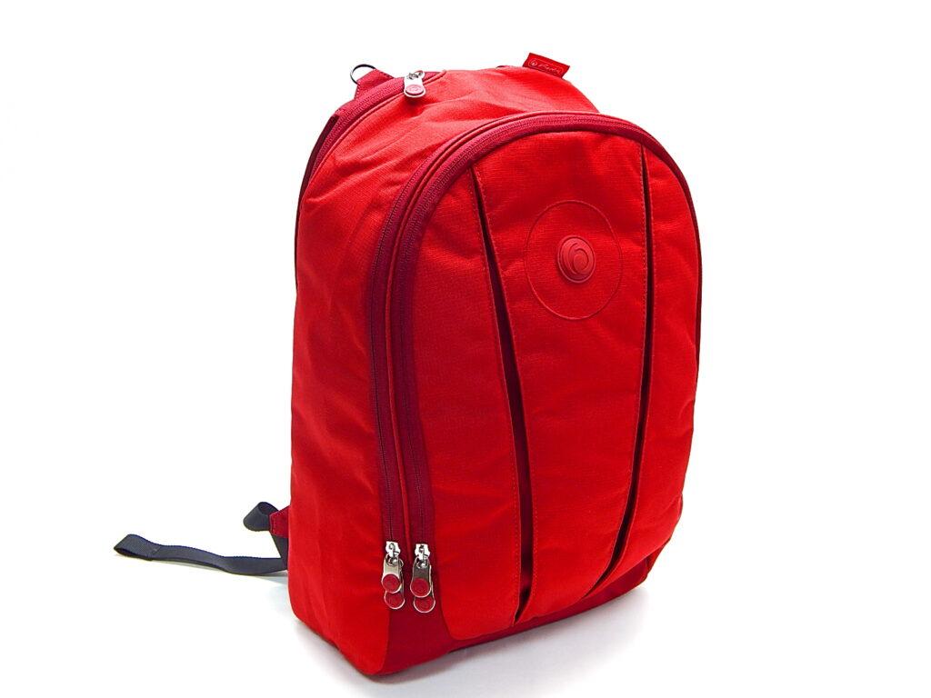 Batoh školní be.bag Bloom červený 11156585