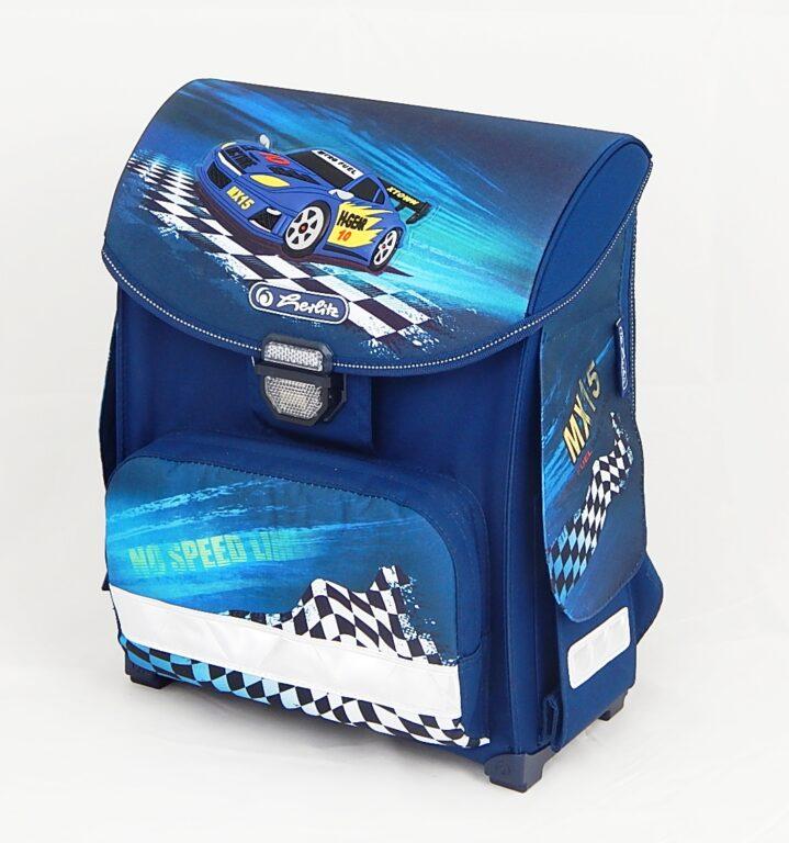 Batoh školní Smart Auto modré /11438389/