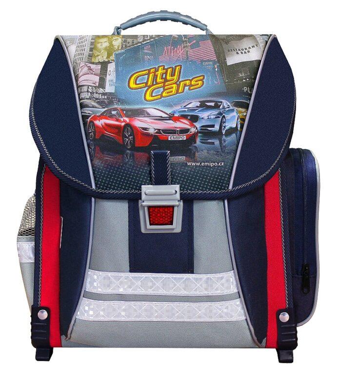 Batoh školní City Cars /B-7910-2.114/
