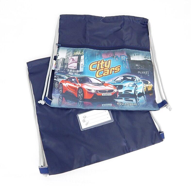 Sáček na cvičky City Cars /S-5801-2.114/